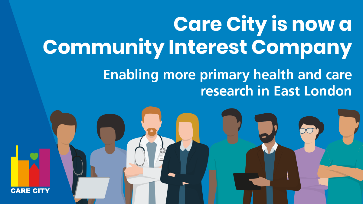 Our focus on the health and wellbeing of our East London community intensifies as we reinvent ourselves as a Community Interest Company.